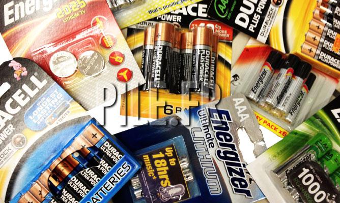 piles lithium ou alcalines ?