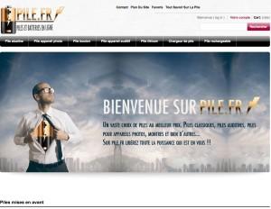 Boutique Pile.fr