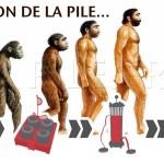 L'évolution  des piles électriques dans l'histoire